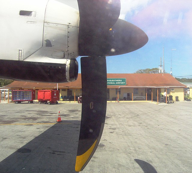 Arrival N Eleuthera Intl Airport by Laurie Buchanan