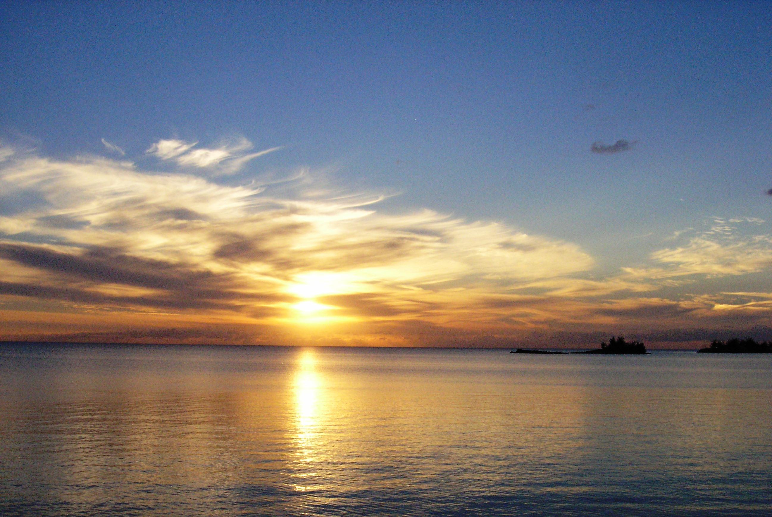 Bahamian Sunset by Laurie Buchanan