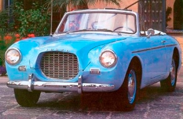 1957 Volvo P1900 Sport Convertible Coupe