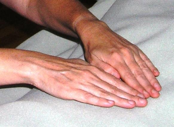 Reiki Hands by Len Buchanan