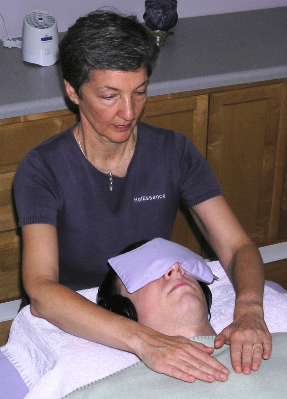 Reiki Session by Len Buchanan