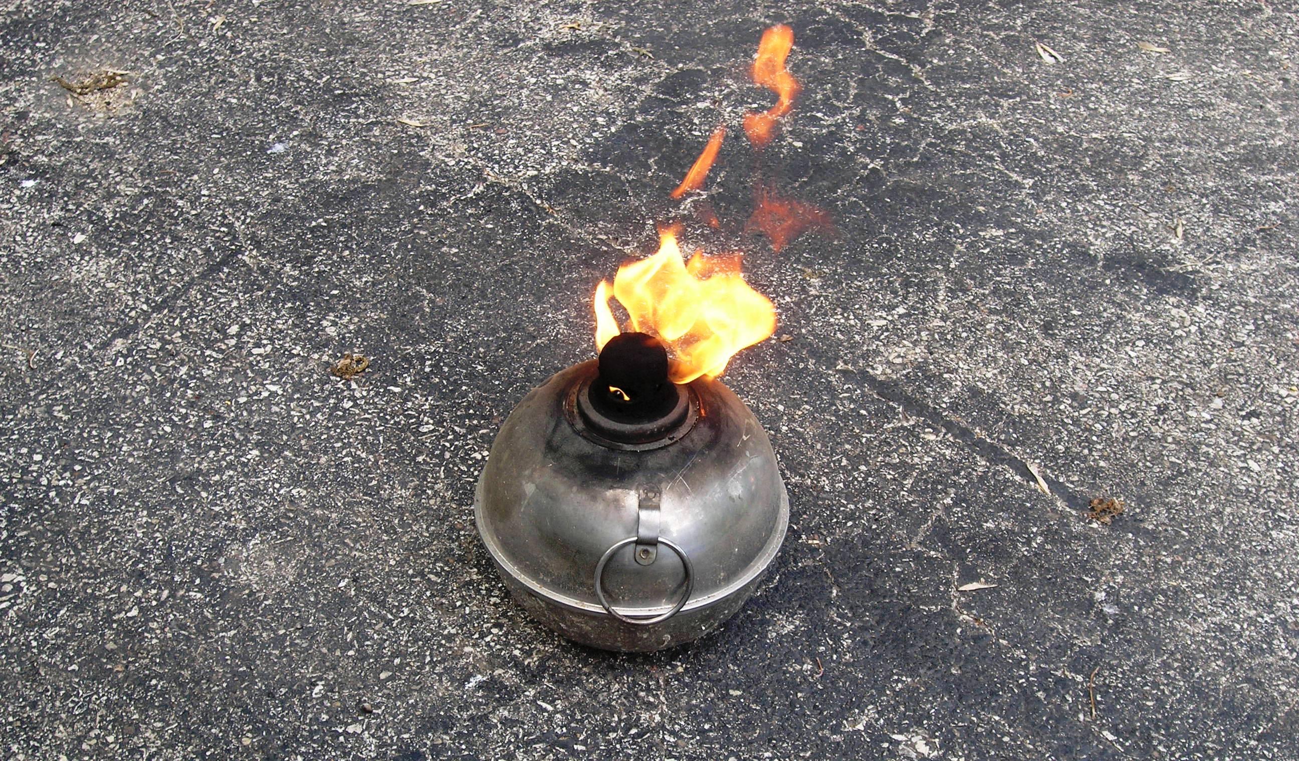 Citronella Fire Pot by Laurie Buchanan