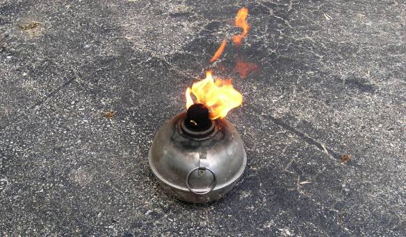 Citronella Fire Pot by Laurie Buchanan