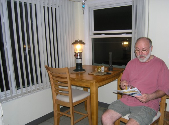 Reading by Coleman Lantern 07-11-2011