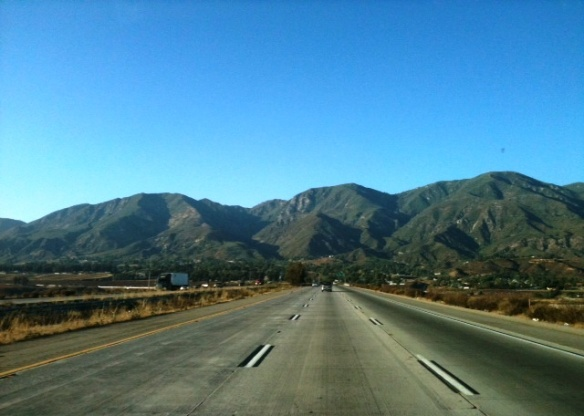 Foothills of the San Bernardino Mountains - Barstow CA